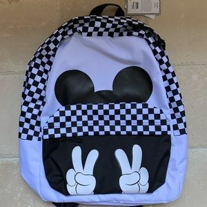 NWT Vans Disney Mickey Mouse Backpack